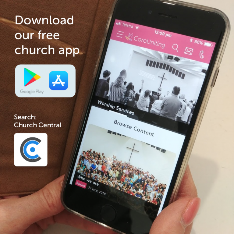 CoroUniting | Download our free church app