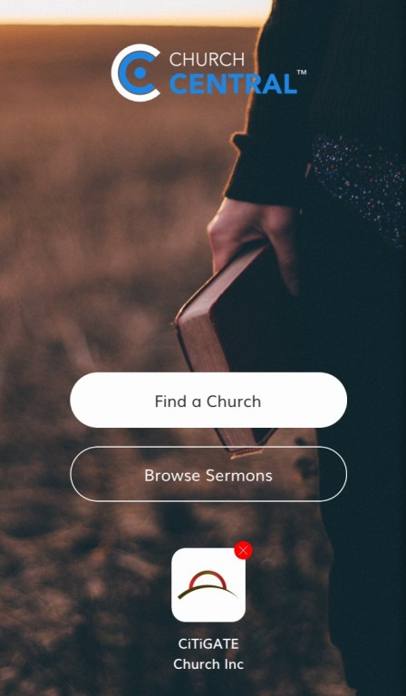 Mobile App for CiTiGATE Church